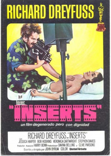 Inserts (1975) cover