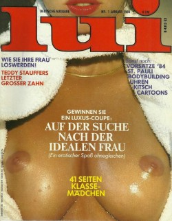 LUI German 01 (1984) (Magazine) cover