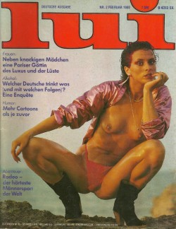 LUI German 02 (1980) (Magazine) cover