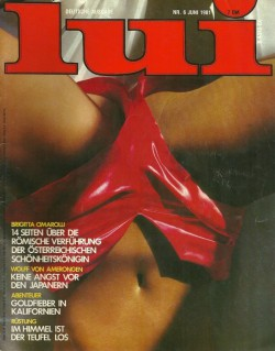 LUI German 06 (1981) (Magazine) cover