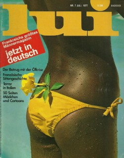 LUI German 07 (1977) (Magazine) cover