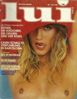 LUI German 07 (1982) (Magazine) cover