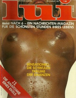 LUI German 08 (1982) (Magazine) cover