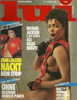 LUI German 08 (1985) (Magazine) cover