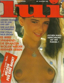 LUI German 10 (1982) (Magazine) cover