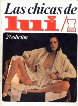 Las Chicas de Lui (1976-77) (Magazine) cover