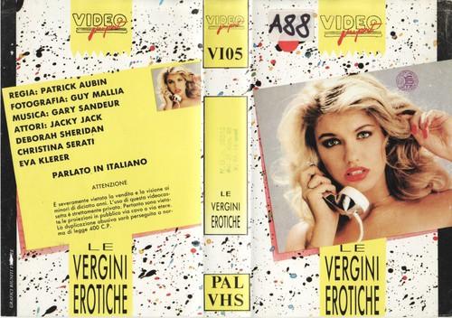 Le Vergini erotich (1984) cover
