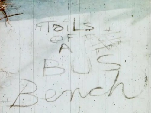 Tales of the Bus Bench (1970) cover