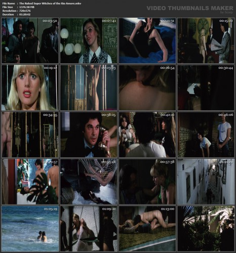 The Naked Super Witches of the Rio Amore (1981) screencaps