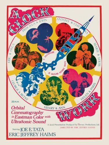 A Clockwork Blue (1972) cover