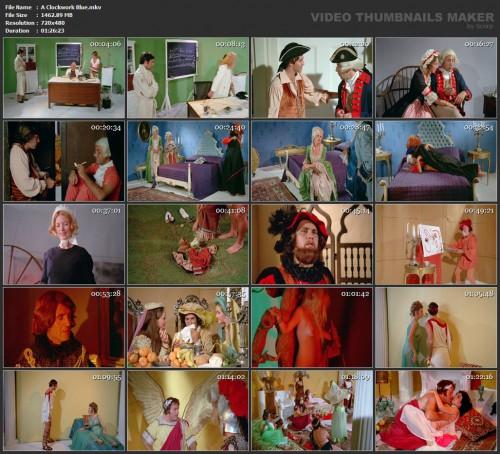A Clockwork Blue (1972) screencaps