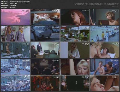 Die Stewardessen (Better Quality) (1971) screencaps