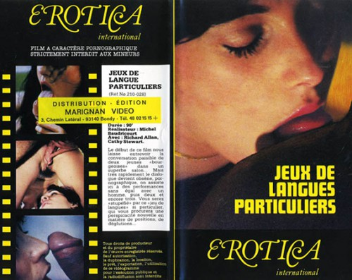 Jeux de langues tres particuliers (1986) cover
