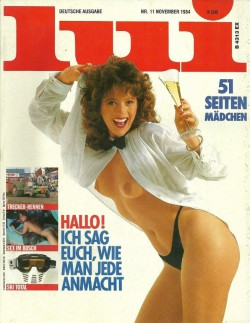 LUI German 11 (1984) (Magazine) cover