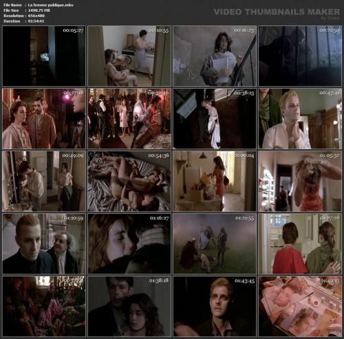 La femme publique (1984) screencaps