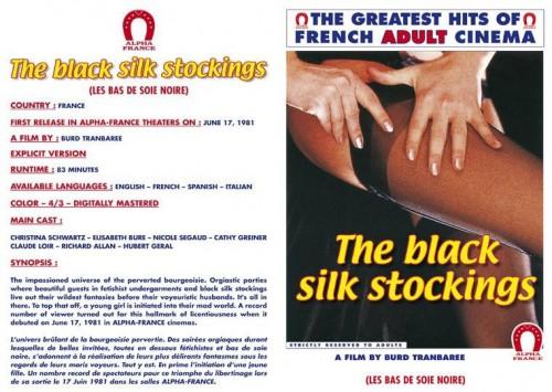 Les Bas de soie noir (1981) cover
