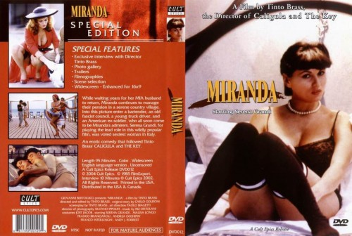 Miranda (1985) cover