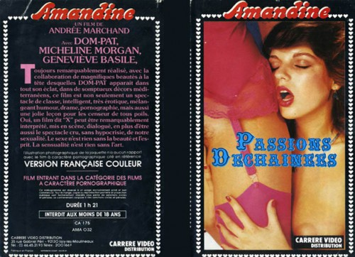 Passions dechainees (1982) cover