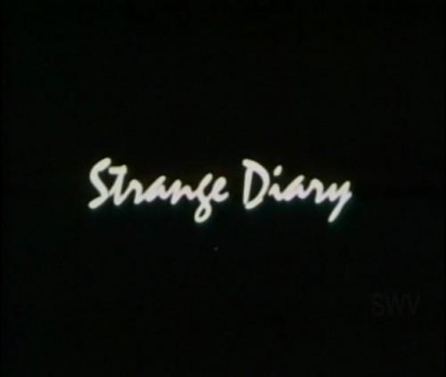 Strange Diary (1976) cover