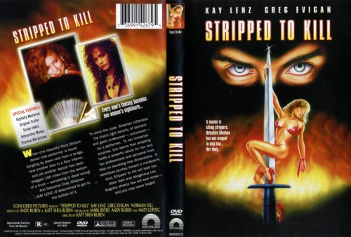 Stripped to Kill (1987) cover