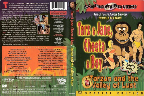 Tarzun and the Valley of Lust (1970) cover