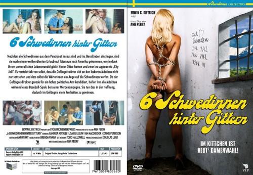 6 Schwedinnen hinter Gittern (BDRip) (1980) cover
