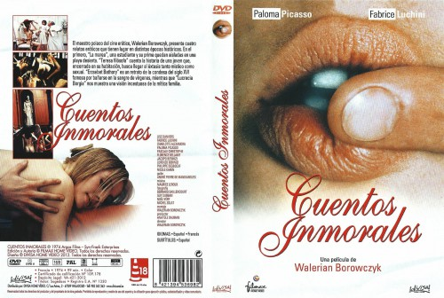 Contes Immoraux (BDRip) (1974) cover
