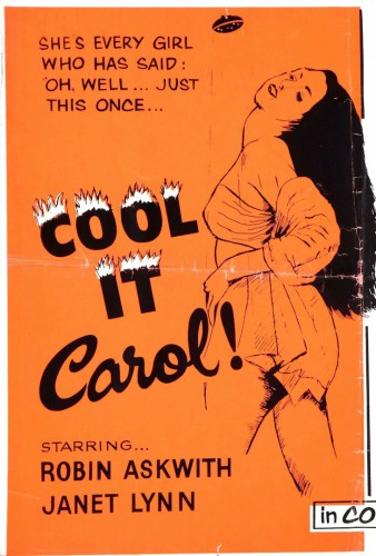 Cool It Carol! (1970) cover