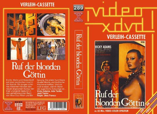 Der Ruf der blonden Gottin (1977) cover