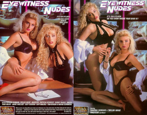 Eyewitness Nudes (1990) cover