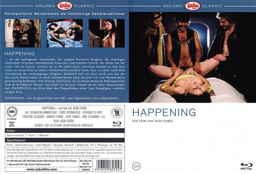 Happening (BDRip) (1983) cover