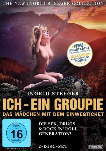 Ich, ein Groupie (BDRip) (1970) cover