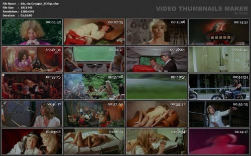 Ich, ein Groupie (BDRip) (1970) screencaps