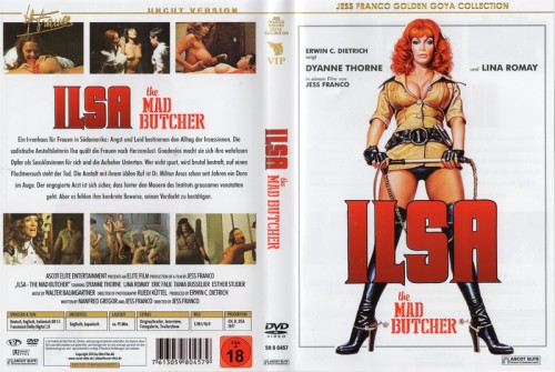 Ilsa - The Mad Butcher (1977) cover