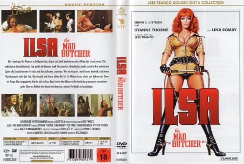 Ilsa - The Mad Butcher (1977) cover