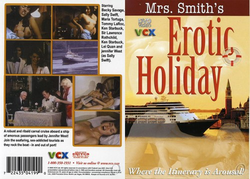 Mrs. Smith's Erotic Holiday (1982) cover