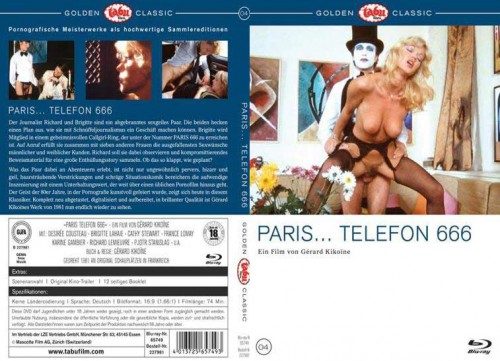 Paris Telefon 666 (BDRip) (1979) cover