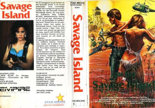 Savage Island (1985) cover