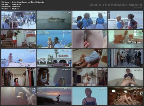 Sechs Schwedinnen auf Ibiza (BDRip) (1981) screencaps