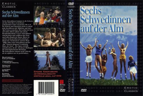 Sechs Schwedinnen auf der Alm (BDRip) (1983) cover
