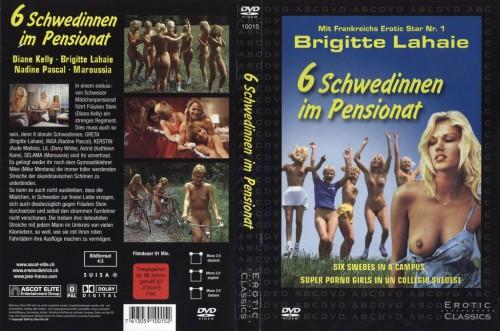 Sechs Schwedinnen im Pensionat (BDRip) (1979) cover