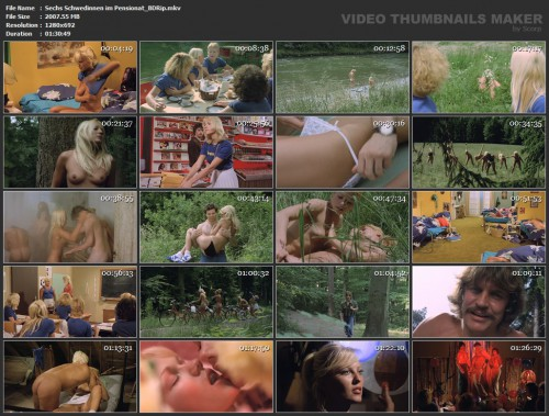 Sechs Schwedinnen im Pensionat (BDRip) (1979) screencaps
