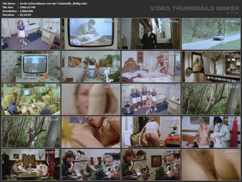 Sechs Schwedinnen von der Tankstelle (BDRip) (1980) screencaps