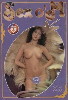 Silwa Sex o'M 25 (Magazine) cover