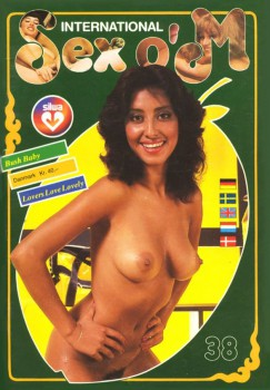 Silwa Sex o'M 38 (International) (Magazine) cover