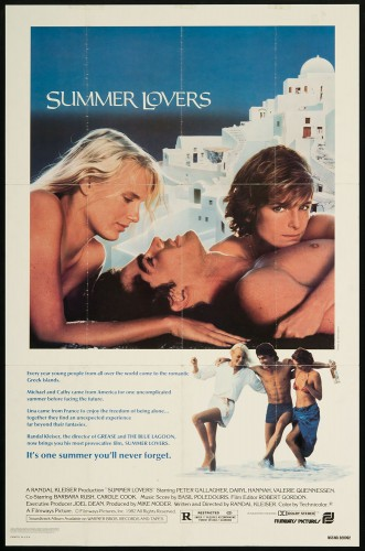 Summer Lovers (Better Quality) (1982) cover