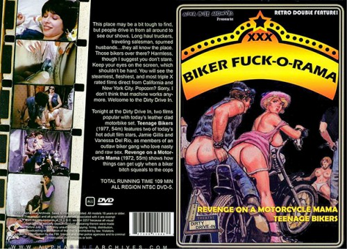 Teenage Bikers (Better Quality) (1977) cover