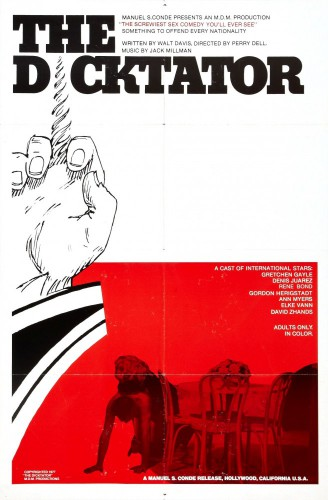 The Dicktator (1974) cover