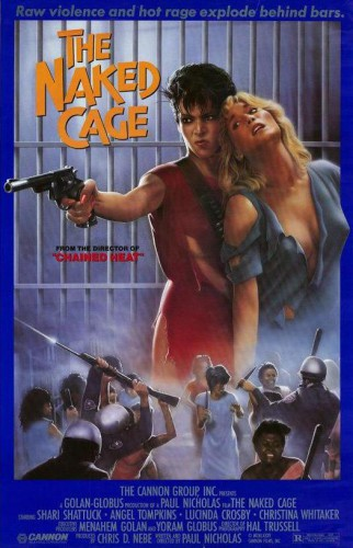 The Naked Cage (Better Quality) (1986) cover