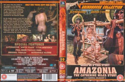 Amazonia: The Catherine Miles Story (1985) cover
